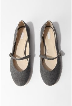 Cooperative Wool Mary Jane Flat $28.00