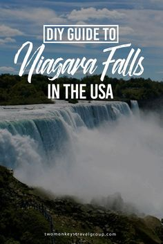 DIY Travel Guide to Niagara Falls in the USA One of the most fascinating natural wonders in the world, Niagara Falls is a must for anyone backpacking in the United States of America and Canada. The Niagara falls is a family-friendly destination, which is New Travel, Canada Travel, Travel Usa, Canada Trip, Romantic Vacations, Romantic Travel, Romantic Getaways, Romantic Gifts, New Orleans