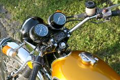 HONDA CB 500 Four Candy Gold EZ 1972