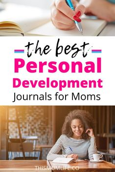 The Best Personal Development Journals for Moms - This Mom Life. Be a better person, parent and Mom with these motivational journals. Happy Mom, Happy Life, Self Development, Personal Development, Cool Journals, Mom Advice, Self Discovery, Working Moms, Mom Humor