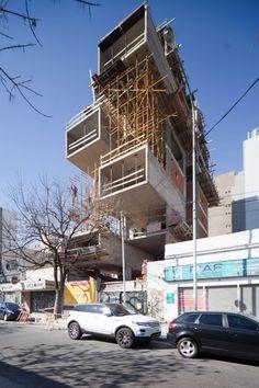 En Construcción: Edificio Dorrego 1711 / Dieguez Fridman. Buenos Aires (Argentina) Cortesía de Dieguez Fridman