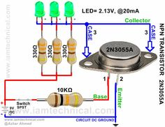 Complementary Silicon High Power Transistor NPN 2N3055A | IamTechnical.com