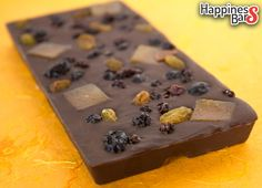 Doesn't that dark chocolate happiness bar created by Ravi look delicious? :)