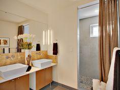 spa-like bathroom.