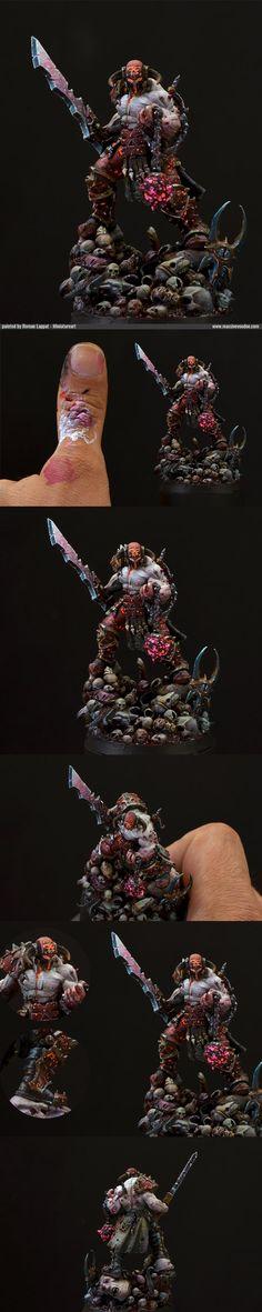 CoolMiniOrNot - Slaugtherpriest of Khorne by jarhead