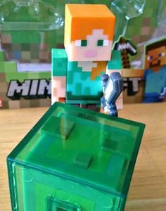 Alex Minecraft Toys - My son really wanted this #Minecraft #ActionFigure from the series 3 collection.