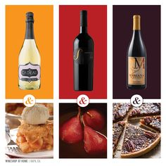 You know the best part of the holidays is all the yummy desserts! When paired with the perfect wines, you've got the holidays covered.