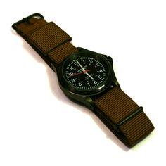 Military Watch Steel Black Carhartt
