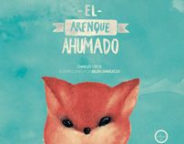 """El arenque ahumado"" - Illustration by Belen Saralegui, via Behance"
