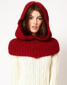 French Connection Undercover Knitted Snood