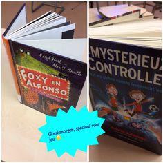 """Dit werkt geweldig om kinderen eens iets anders te laten lezen of om überhaupt weer te gaan lezen. Voor schooltijd zet ik een boek dat ik heb geleend bij de bieb, bij iemand op tafel. Een boek waarvan ik denk: """"Dit is nou echt een boek voor jou!"""""""