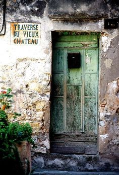 """"""""""" Distressed beauty in Menton ~ France """" """""""