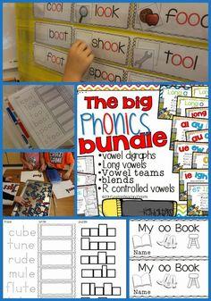 The Big Phonics Bundle! {Purposeful Word Work} - Tunstall's Teaching Tidbits