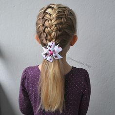 """One of my favourites: a combination of french and waterfall braids. A tutorial now on my YouTube. More about this and other tutorials on my blog.  Yksi lempileteistäni: kolmois ranskalainen. Ohje löytyy mun YouTube-kanavalta. Lisää tästä ja muista ohjeista blogissani."" Photo taken by @jennishairdays on Instagram, pinned via the InstaPin iOS App! http://www.instapinapp.com (04/18/2015)"