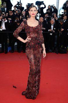 Cannes Film Festival 2013: Bianca Balti in Dolce & Gabbana