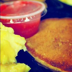 Paleo Pancakes from @primalorganic healthy meal plans.  Delivery in Dade county only. #glutenfree