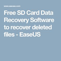 Cf card data recovery software free download full version