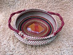 Sweet grass and Pine needle basket