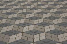 Pflaster, Verlegemuster Rhombenförmig (3D Steine) Tile Floor, Flooring, 3d, Texture, Crafts, Paving Stones, Surface Finish, Manualidades, Tile Flooring
