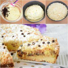 torta cremosa ricotta e cioccolato
