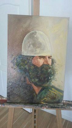 Adem Jashari Oil on canvas