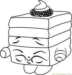 Le 'Quorice Shopkins Coloring Page