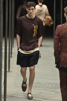 Dries Van Noten Men's RTW Spring 2015 - Slideshow