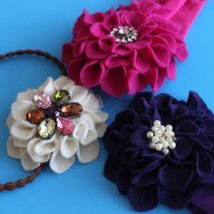 kojodesigns: color my summer tutorial- purple dahlia headband