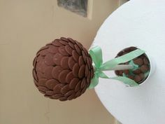 Chocolate button sweet tree