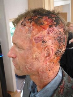 The Dark Knight Make Up Effects & behind the scenes pics