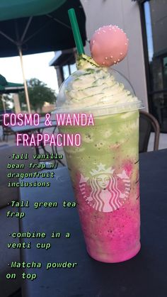 starbucks drinks frappuccino / starbucks drinks - starbucks drinks recipes - starbucks drinks to try - starbucks drinks frappuccino - starbucks drinks refreshers - starbucks drinks recipes diy - starbucks drinks secret - starbucks drinks coffee Starbucks Frappuccino, Bebidas Do Starbucks, Healthy Starbucks Drinks, Yummy Drinks, Starbucks Hacks, Starbucks Secret Menu Drinks, Cosmo And Wanda, How To Order Starbucks, Smoothie Drinks