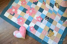 Kids Rugs, Quilts, Blanket, Bed, Home Decor, Scrappy Quilts, Decoration Home, Kid Friendly Rugs, Stream Bed