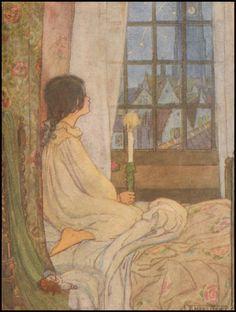 Florence Harrison illustration via eBay
