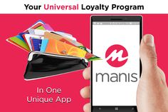Loyalty card for your groceries, loyalty card for your shopping, cards, cards and more cards…can't keep track? Now you have the solution: introducing Manis! Since it is a hassle to carry lots of membership cards in our wallets, it is the time to replace all these cards with one unique digital loyalty program. Manis gives you the solution: go digital! Throw all your cards away and download Manis. It is a new experience of shopping! It's time to go cardless! www.getmanis.com