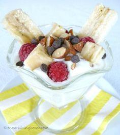 Tue Aug 26 - BREAKFAST -Yogurt Banana Split Parfaits (GF) - The Nourishing Home