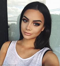 Popular: The Insta look usually features heavy contouring and highlighting on the cheeks, ...