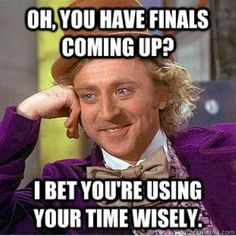 Don't prove Condescending Willy Wonka right!