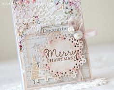 shabby christmas card шебби открытка к новому году | Flickr - Photo Sharing!