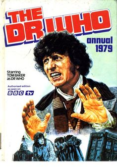 Did you own any of these original BBC TV Dr Who and Dalek annuals which were published from 1964 to Full list with cover photos of every annual. 4th Doctor, Doctor Who Art, Dr Who Books, Dr Who Companions, Classic Doctor Who, 1970s Childhood, Bbc Tv, Kids Tv, Time Lords
