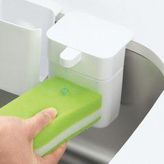 コレは便利!片手で押すだけ♪食器洗い用洗剤を使いやすく https://room.rakuten.co.jp/room_jp/1700010194925102?scid=we_rom_pinterest_official_20161117_r1