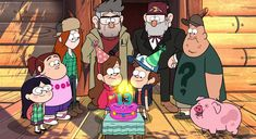Gravity Falls-Happy Birthday Mabel and Dipper. Dipper Pines, Dipper Y Mabel, Mabel Pines, Cartoon Tv, Cartoon Shows, Gravity Falls Episodes, Gravity Falls Characters, Cuento Pop Up, Monster Falls