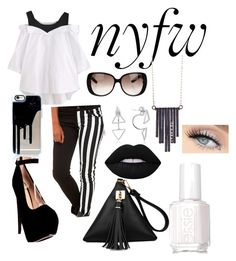 """New York Fashion week"" by disney-a ❤ liked on Polyvore featuring Tripp, Gucci, Ariko, Lime Crime and Essie"
