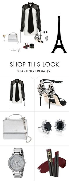 """""""Sara Rodríguez Arias"""" by sara-rodriguez-arias ❤ liked on Polyvore featuring self-portrait, Dolce&Gabbana, Givenchy, Blue Nile, Michael Kors and L.A. Girl"""