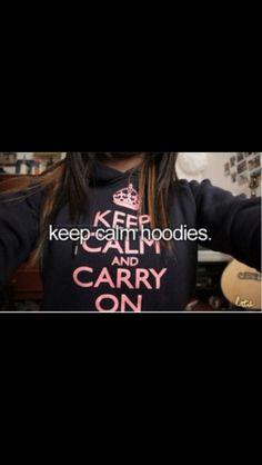 Keep calm hoodies;) wish I had one Keep Calm, Wish, Hoodies, Movie Posters, Inspiration, Sweatshirts, Biblical Inspiration, Stay Calm, Film Poster