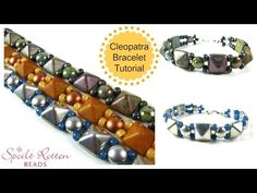 Cleopatra's Bracelet Video Tutorial - Spoilt Rotten Beads