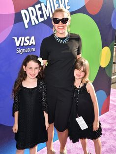 Pin for Later: Pink's Daughter Makes Her Adorable Red Carpet Debut at the Inside Out Premiere