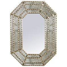 Worlds Away Millie Silver Mirror WAMILLIES