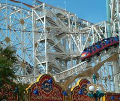 8th longest roller coaster in the world: California Screamin' - 6072 Feet