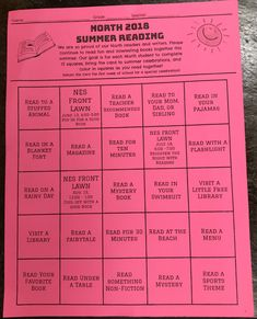 Summer Reading  Fun ideas to keep your little engaged and excited about reading all summer long!