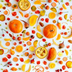 Julie Lee's food collage